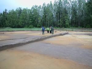 opplæring av arkeologistudenter