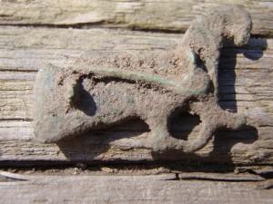 Fuglespenne bakside Lolland vikingetid
