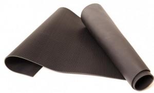 V Ribbed Rubber matting
